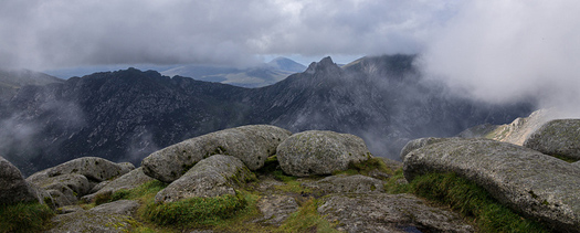 The Isle of Arran from the summit of Goat Fell. Photo: User:Colin