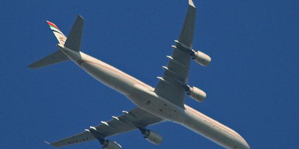 Bird (not) on a wire ... Etihad Airways goes wireless
