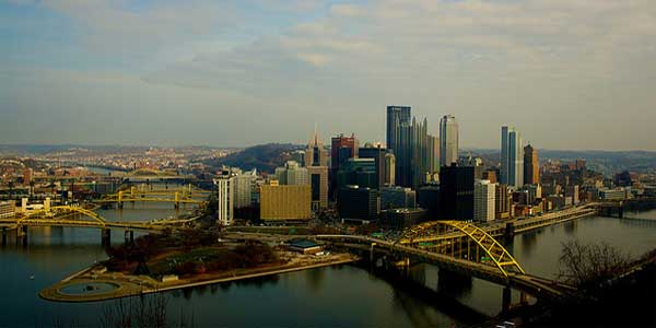 US city Pittsburgh chosen as top 20 destination for 2012