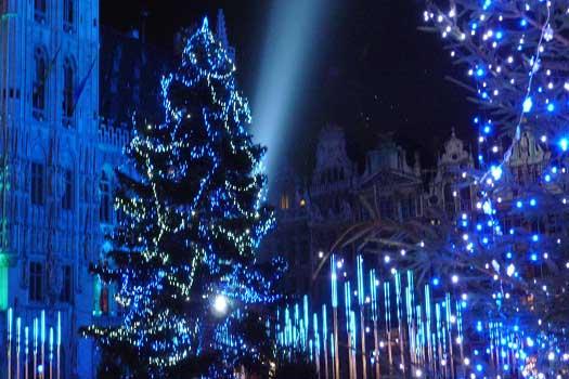 Brussels Christmas market, Belgium