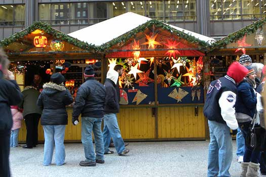 Chicago Christmas Market, USA