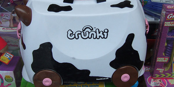 Trunki ... is it a suitcase or is it a funky buggy?