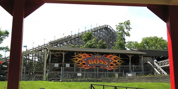 Who's in charge? This rollercoaster, called The Boss