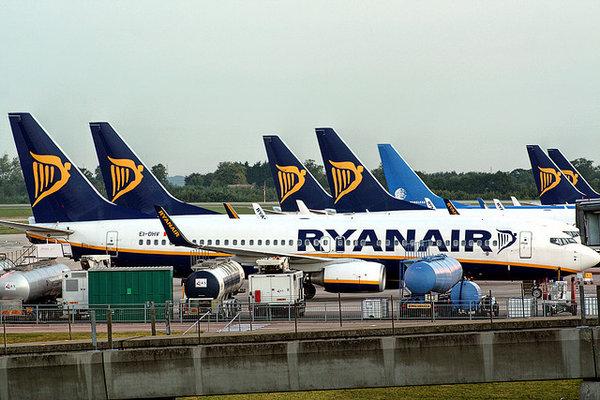 Ryanair, the Irish airline