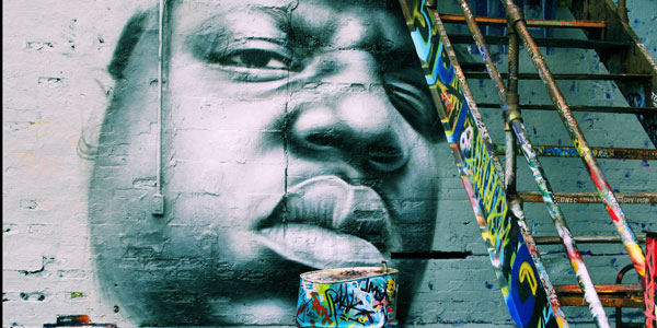 Portrait of the Notorious B.I.G