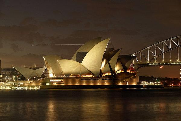 Mel B's new home... Sydney