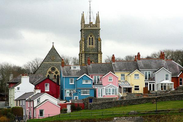 Aberaeron, Wales