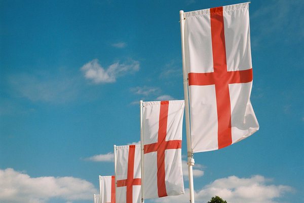 St George's Day is just around the corner