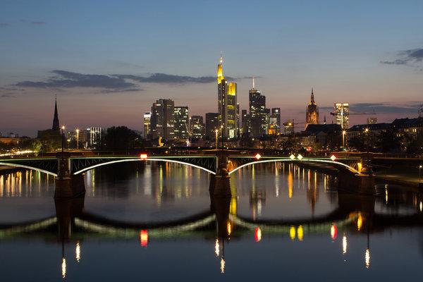 Lighting up the city... Luminale Frankfurt