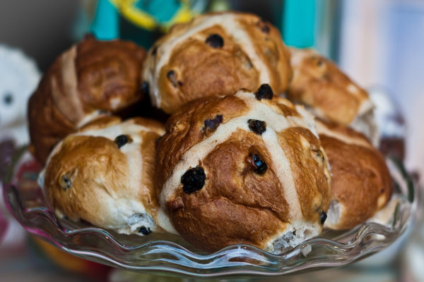 Hot cross buns... a British Easter favourite