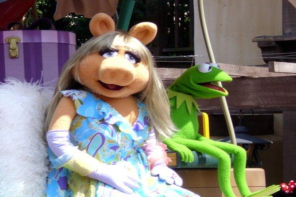 Family ambassadors... the Muppets