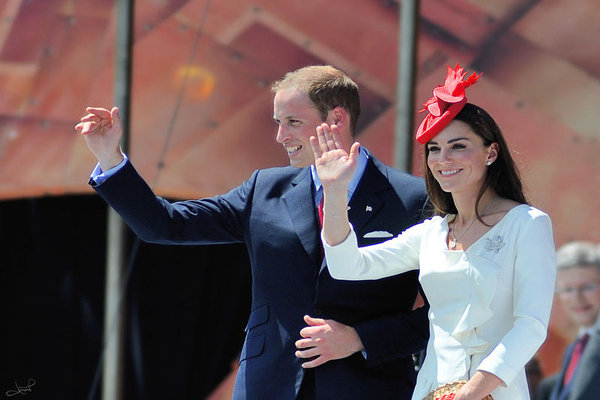 Paper anniversary... William and Kate