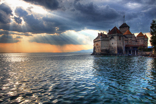Château de Chillon on Lake Geneva