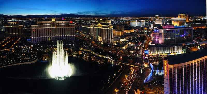 Las Vegas Celebrity travel