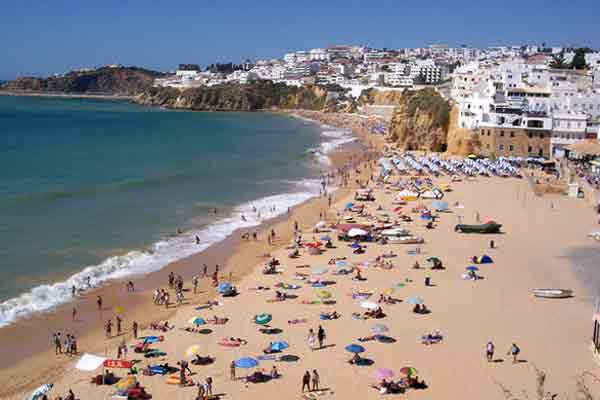 Portugal ... bucket-and-spade holiday favourite