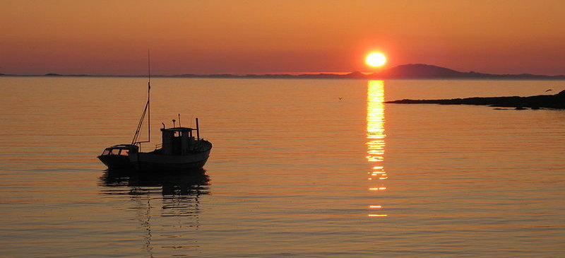 Where can you visit a land of the midnight sun?