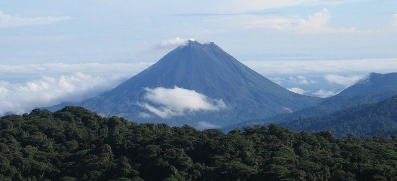 Where can you see a volcano up close?