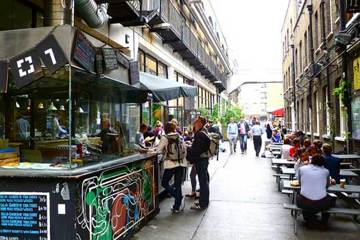 6. Go shopping at Manchester's Northern Quarter, or markets like Camden, Portobello and Spitalfields