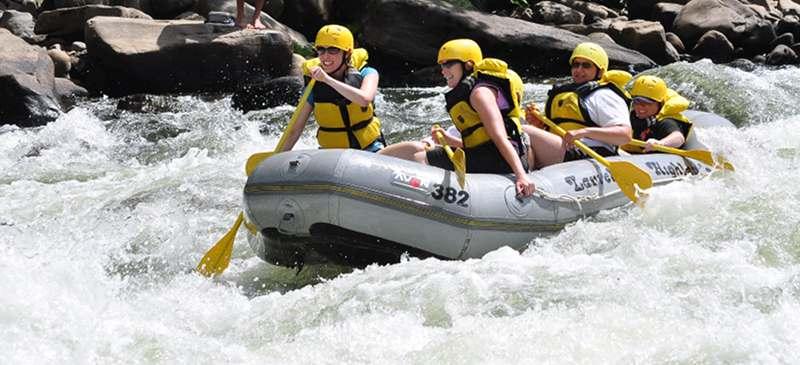 White-water rafting - Tambopata River Peru