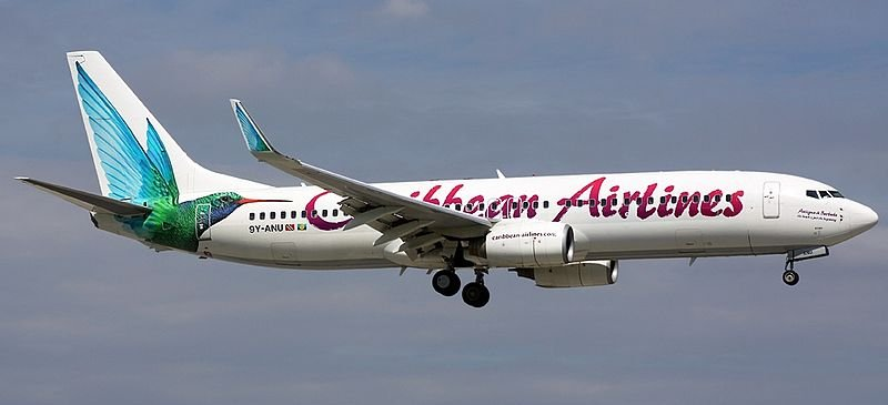 New Gatwick service... Caribbean Airlines