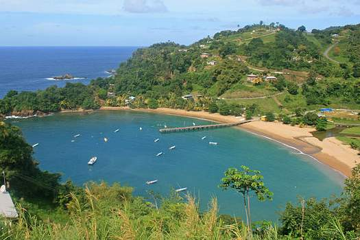 Parlatuvier Bay, Tobago