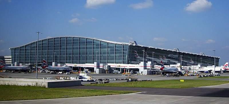 Olympic plans... Heathrow Airport