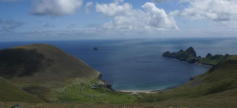Remote and rugged... St Kilda, Scotland