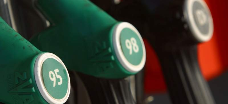 Petrol prices on the continent have skyrocketed