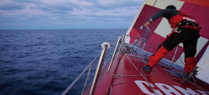 Coming to an end... Volvo Ocean Race