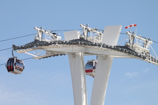 Thames Cable Car - the Emirates Air Line