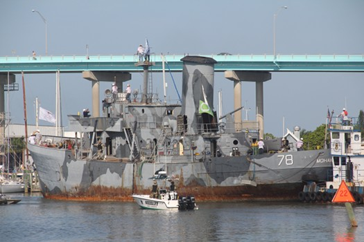 WWII warship sunk for divers