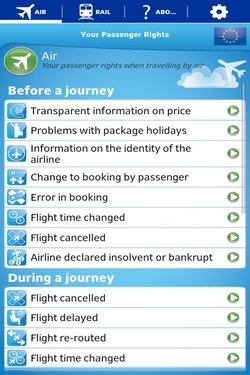 Your Passenger Rights app