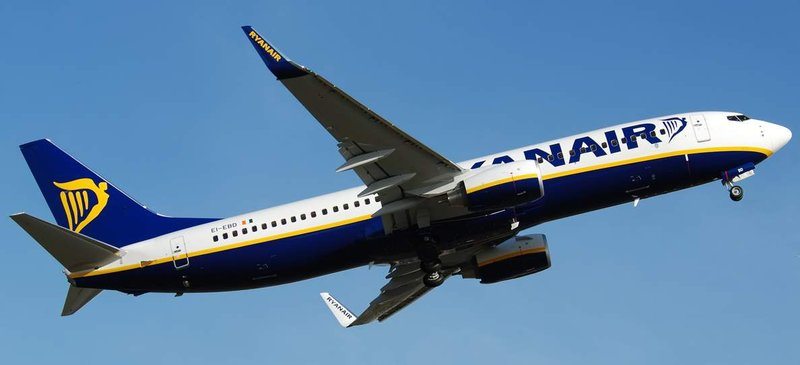New routes from Birmingham Airport... Ryanair
