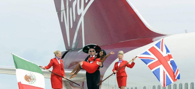Tax-free flights for a limited period... Virgin Atlantic