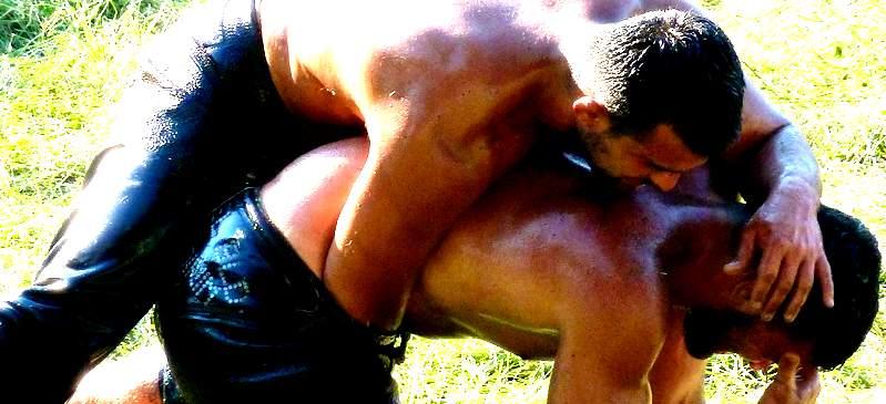 World's oldest wrestling competition... Kirkpinar
