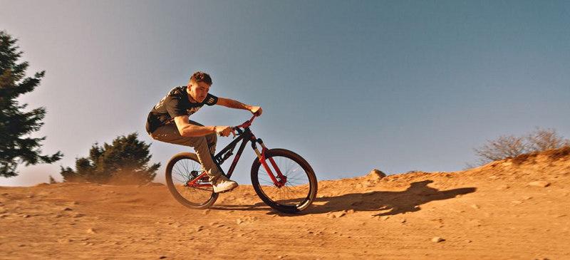 Blaze Oaxaca's trails on mountain bike