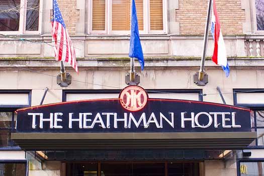 Steele and Grey first met in Portland's Heathman Hotel