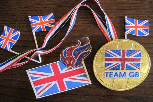 Team GB won 65 medals at the 2012 Olympics