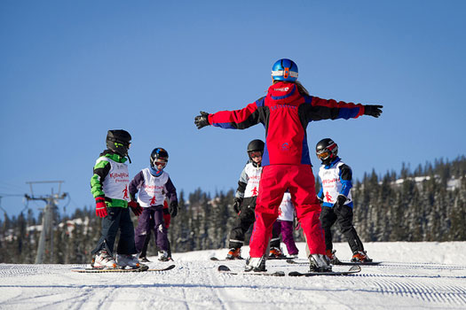 Become a ski or snowboard instructor