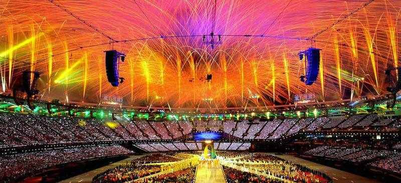 The closing ceremony was packed with special appearances