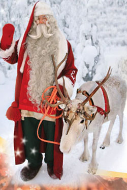 All trips include a visit to Santa himself