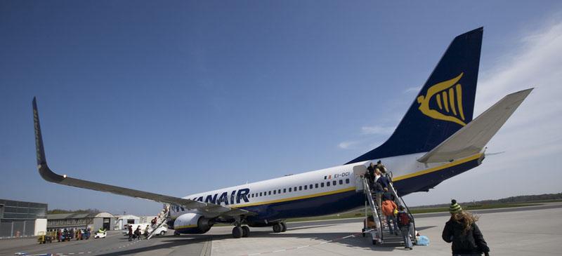 Reducing flights to Finland... Ryanair