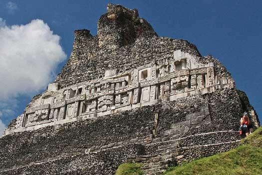 Friese, El Castillo, Xunantunich, Belize