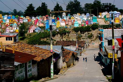 Chichicastenango and its cemetery
