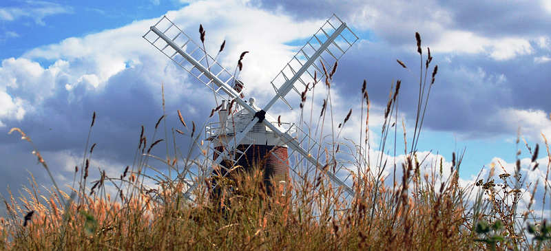 Cley Windmill weird and wonderful places to stay in the UK