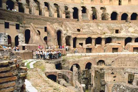 Soak up Rome's rich history