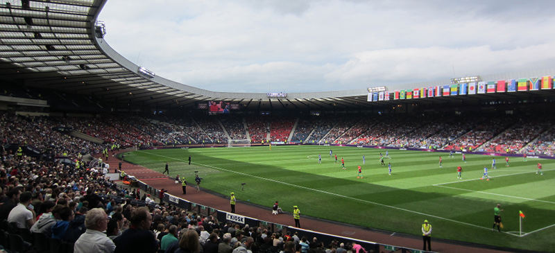 Hampden Park - Britain's sporting pantheons