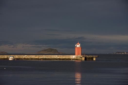 Molja Lighthouse, Ålesund, Møre og Romsdal County, Norway