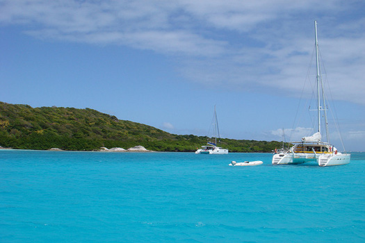The Tobago Cays in the Grenadines
