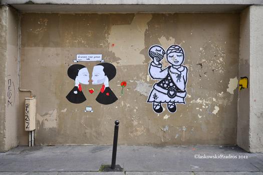 Wall art Paris - Obercampf